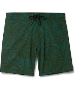 OUTERKNOWN | Evolution Mid-Length Printed Swim Shorts