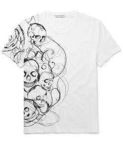 Alexander McQueen | Sim-Fit Sku-Print Organic Cotton-Jersey T-Shirt