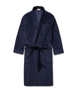 Sleepy Jones | Glenn Cotton-Corduroy Robe
