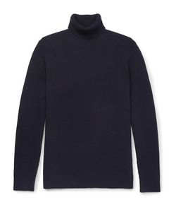 Folk | Waffle-Knit Stretch-Cotton Rollneck Sweater