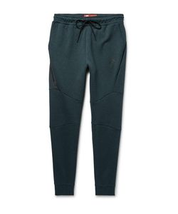 Nike | Lim-Fit Tapered Cotton-Blend Tech Fleece Weatpant