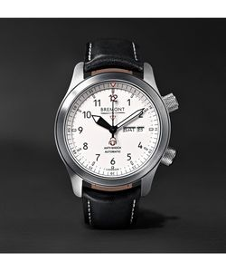 Bremont | Martin Baker Ii Stainless Steel And Leather Watch