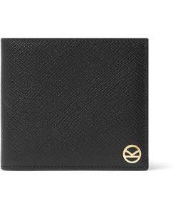 Kingsman | Smythson Panama Cross-Grain Leather Billfold Wallet
