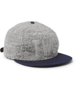 The Workers Club | Ebbets Field Flannels Appliquéd Bouclé Baseball Cap
