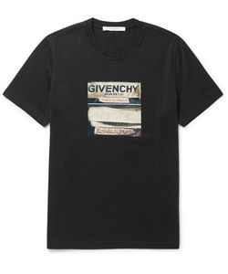 Givenchy | Cuban-Fit Printed Cotton-Jersey T-Shirt
