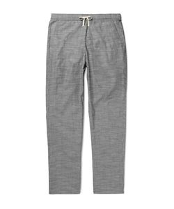 Oliver Spencer Loungewear | Pinstriped Cotton Pyjama Trousers