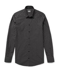 Dolce & Gabbana | Slim-Fit Polka-Dot Cotton-Poplin Shirt