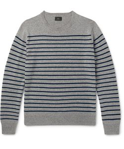 J.Crew | Striped Cashmere Sweater