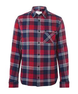 Aztech Mountain | Lodge Peak Checked Cotton-Flannel Hirt