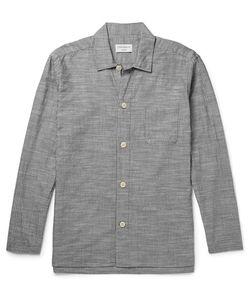 Oliver Spencer Loungewear | Pintriped Cotton Pyjama Hirt