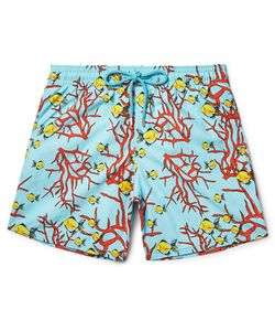 Vilebrequin | Moorea Mid-Ength Printed Swim Shorts