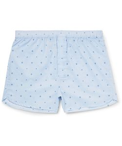 Derek Rose | Arlo Printed Cotton Boxer Hort