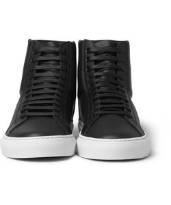 Givenchy | High-Top Leather Sneakers