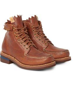 Visvim | Fringed Leather Boots