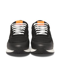Givenchy | Panelled Mesh Leather And Suede Sneakers