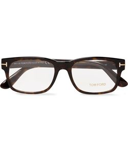 Tom Ford | Justin Metal And Acetate Square-Frame Polarised Sunglasses