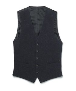 Thom Sweeney | Slim-Fit Slub Cotton Wool And Silk-Blend Waistcoat