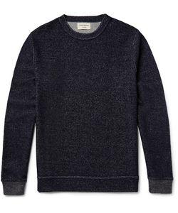 Oliver Spencer Loungewear | Mélange Terry Weathirt