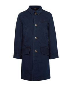 Kapital | -Dyed Denim Chesterfield Coat