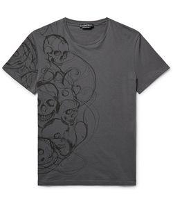 Alexander McQueen | Slim-Fit Skull-Print Cotton-Jersey T-Shirt