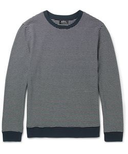 A.P.C. | Striped Cotton Sweater