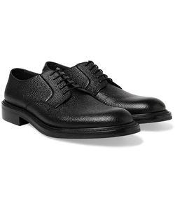 O'Keeffe | Felix Pebble-Grain Leather Derby Shoes
