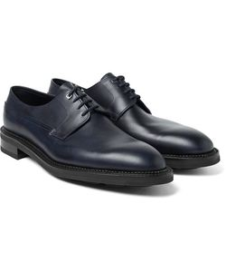JOHN LOBB | Croft Panelled Leather Oxford Shoes