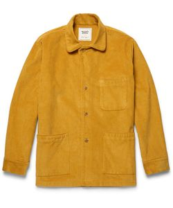 Sleepy Jones | David Coggin Cotton-Corduroy Houe Coat