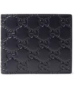 Gucci | Gg Debossed Leather Billfold Wallet