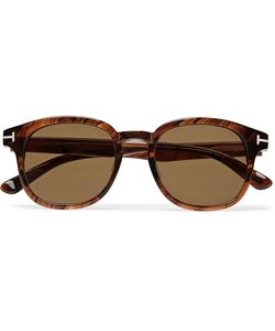 Tom Ford | Frank Tortoiseshell Acetate D-Frame Sunglasses