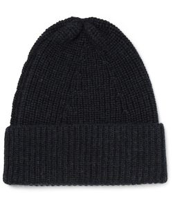 The Workers Club | Ribbed Merino Wool Beanie