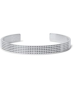 Le Gramme | Le 23 Guilloché Studded Sterling Cuff