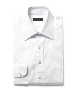 Thom Sweeney | Slim-Fit Cotton-Poplin Shirt