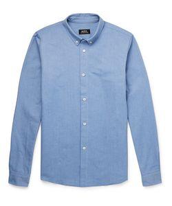 A.P.C. | Slim-Fit Button-Down Collar Cotton Oxford Shirt