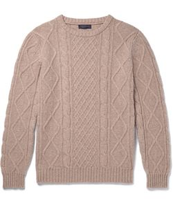 Thom Sweeney | Cable-Knit Cashmere Sweater
