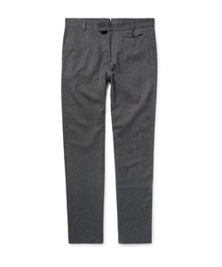 Oliver Spencer | Slim-Fit Cotton And Wool-Blend Trousers