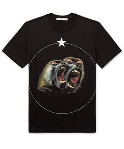 Givenchy | Monkey Brother Cuban-Fit Printed Cotton-Jerey T-Hirt