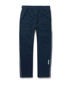 Stüssy | Tapered Contrat-Trimmed Jerey Weatpant