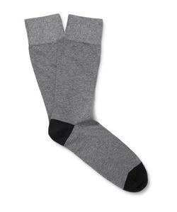 Corgi | Two-Tone Cotton-Blend Socks