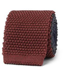 BERLUTI | 5cm Tri-Tone Knitted Silk Tie