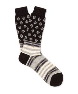 Anonymous Ism | Patterned Knitted Socks