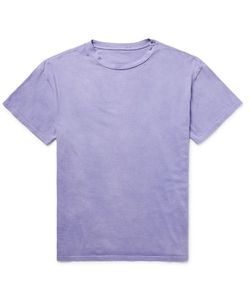 The Elder Statesman | Washed-Cotton Jersey T-Shirt