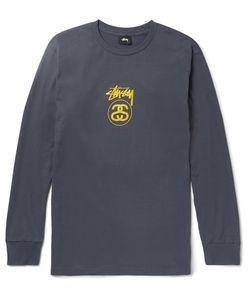 Stüssy | Sim-Fit Printed Cotton-Jersey T-Shirt