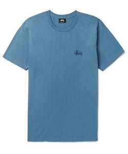Stüssy | Printed Cotton-Jersey T-Shirt