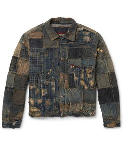 Kapital | Boro Slim-Fit Patchwork Denim Jacket