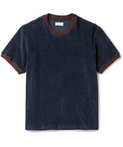 Fanmail | Contrast-Trimmed Organic Cotton-Velour T-Shirt