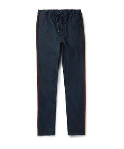 Fanmail | Drawstring Organic Cotton-Twill Trousers