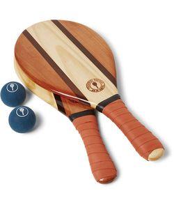 FRESCOBOL CARIOCA | Trancoso Wooden Beach Bat And Ball Set
