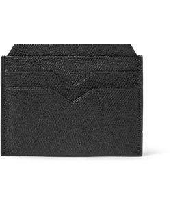 Valextra | Pebble-Grain Leather Cardholder