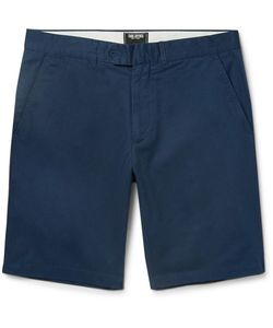 TODD SNYDER | Hudson Slim-Fit Wool-Twill Chino Shorts